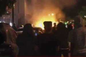 Image taken during the Grand Rapids riot of May 2020.