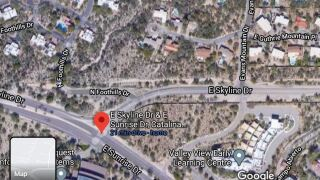 Two weeks of turning restrictions begin today near the intersection of Sunrise at Skyline. Work hours to reconfigure the intersection are 6 a.m. until 4:30 p.m. until Feb. 26.