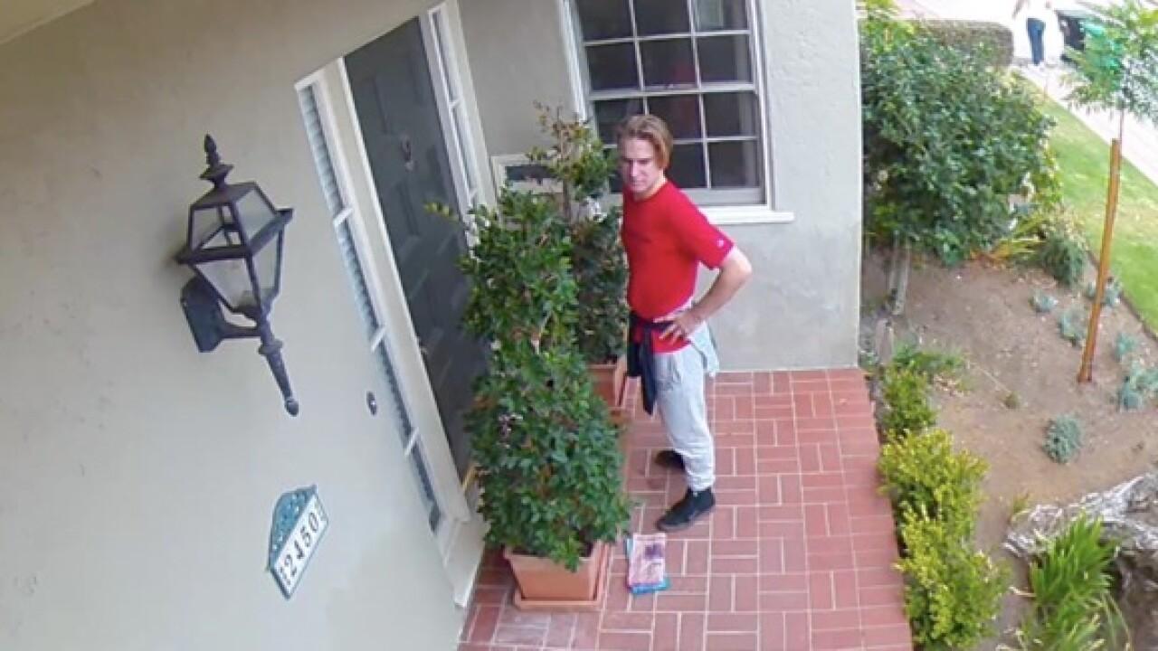 Teenager inside home as intruders break in