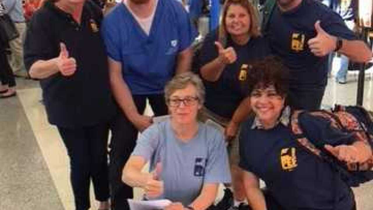 RN gives up vacation to help hurricane victims