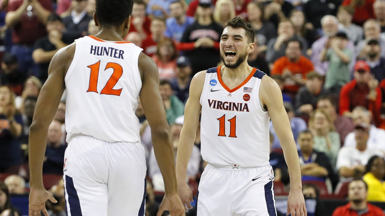 Virginia's Ty Jerome joins teammate De'Andre Hunter as first round NBA Draft picks