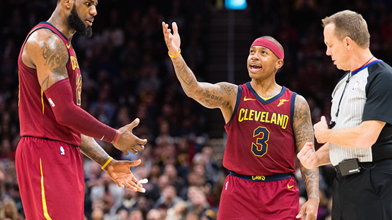 Isaiah Thomas disses Cleveland on social media, then issues an apology