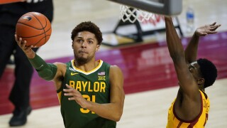NCAA-Baylor-Bear Guards Basketball