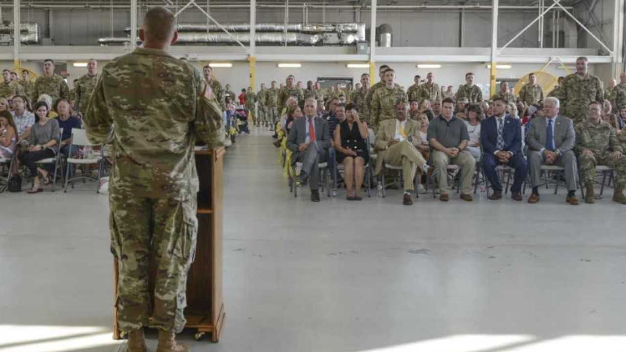 Fifty Louisiana Guardsmen heading to Afghanistan
