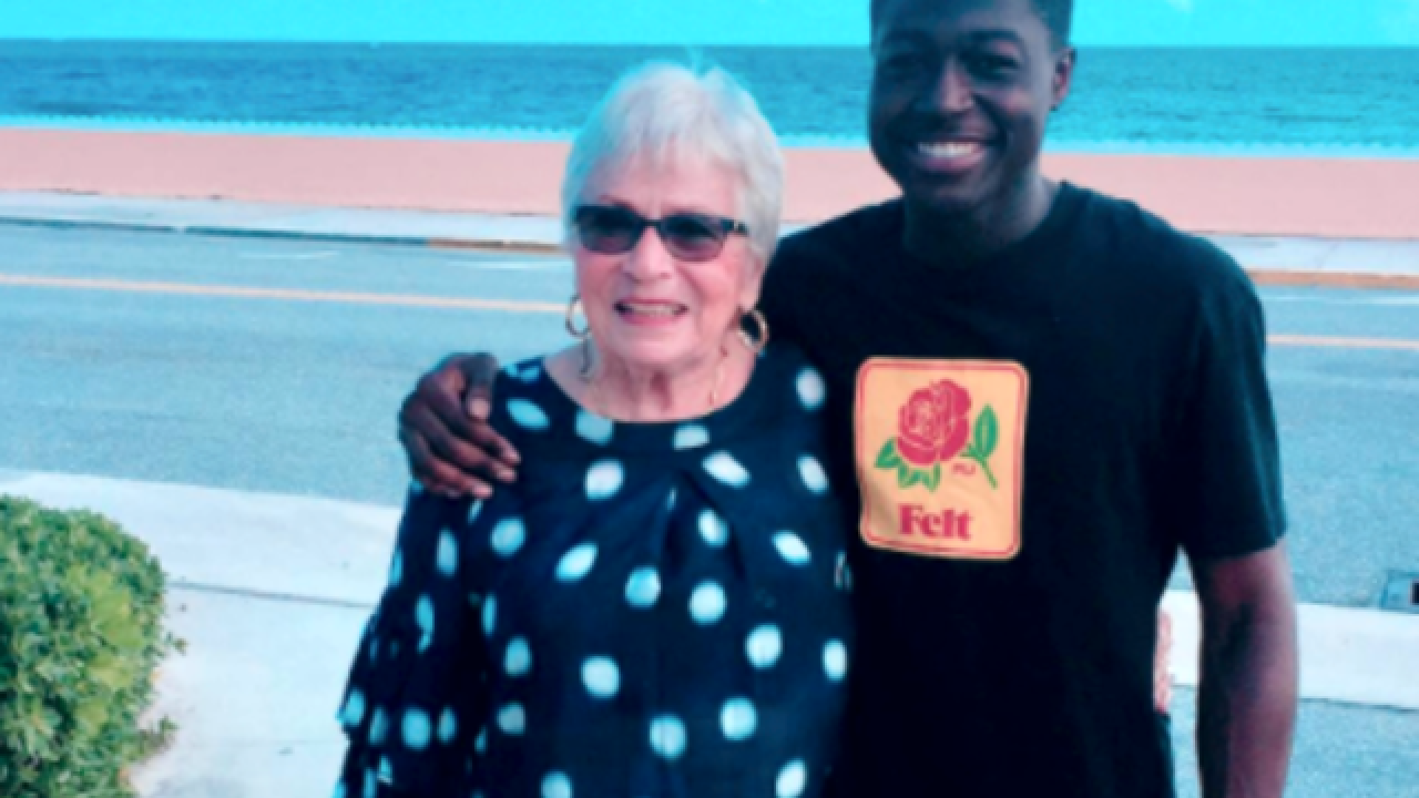 This young black rapper, white Florida retiree became besties through Words with Friends