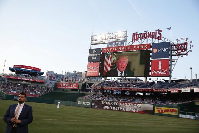 PHOTOS: Republicans and Democrats unite for Congressional baseball game