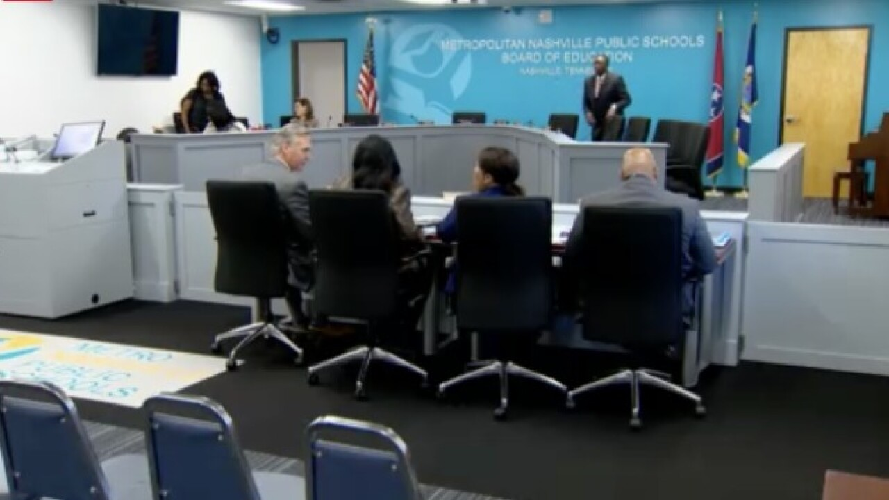 LIVE: MNPS Board Members Hold Budget Hearing
