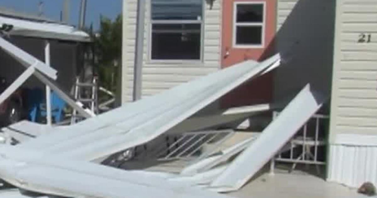 Nws confirms ef1 tornado hit from palm beach gardens to - Palm beach gardens weather forecast ...