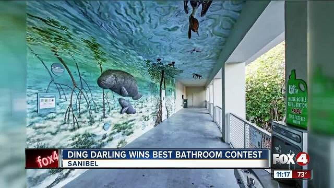 Ding Darling gets Best Bathroom award