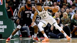 Giannis Antetokounmpo named Eastern Conference Player of the Month.