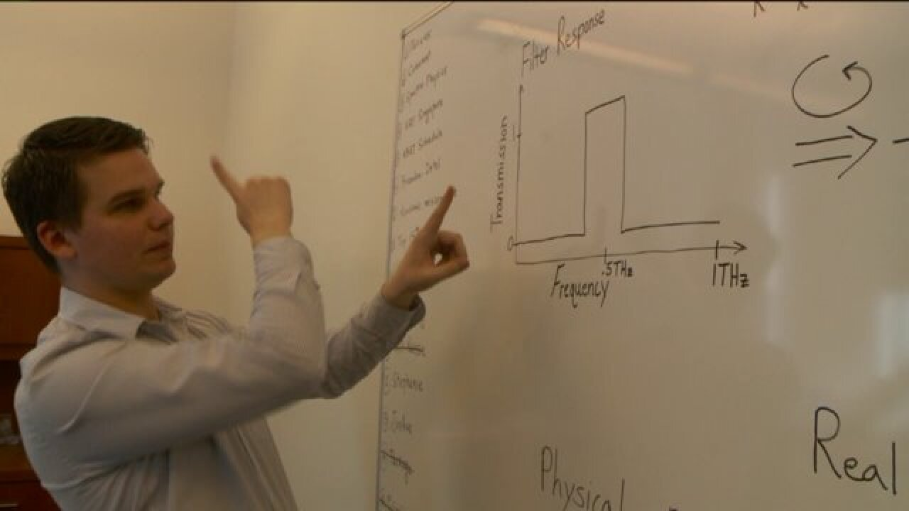 U of U engineer working on technology with potential to make download speeds a thousand timesfaster