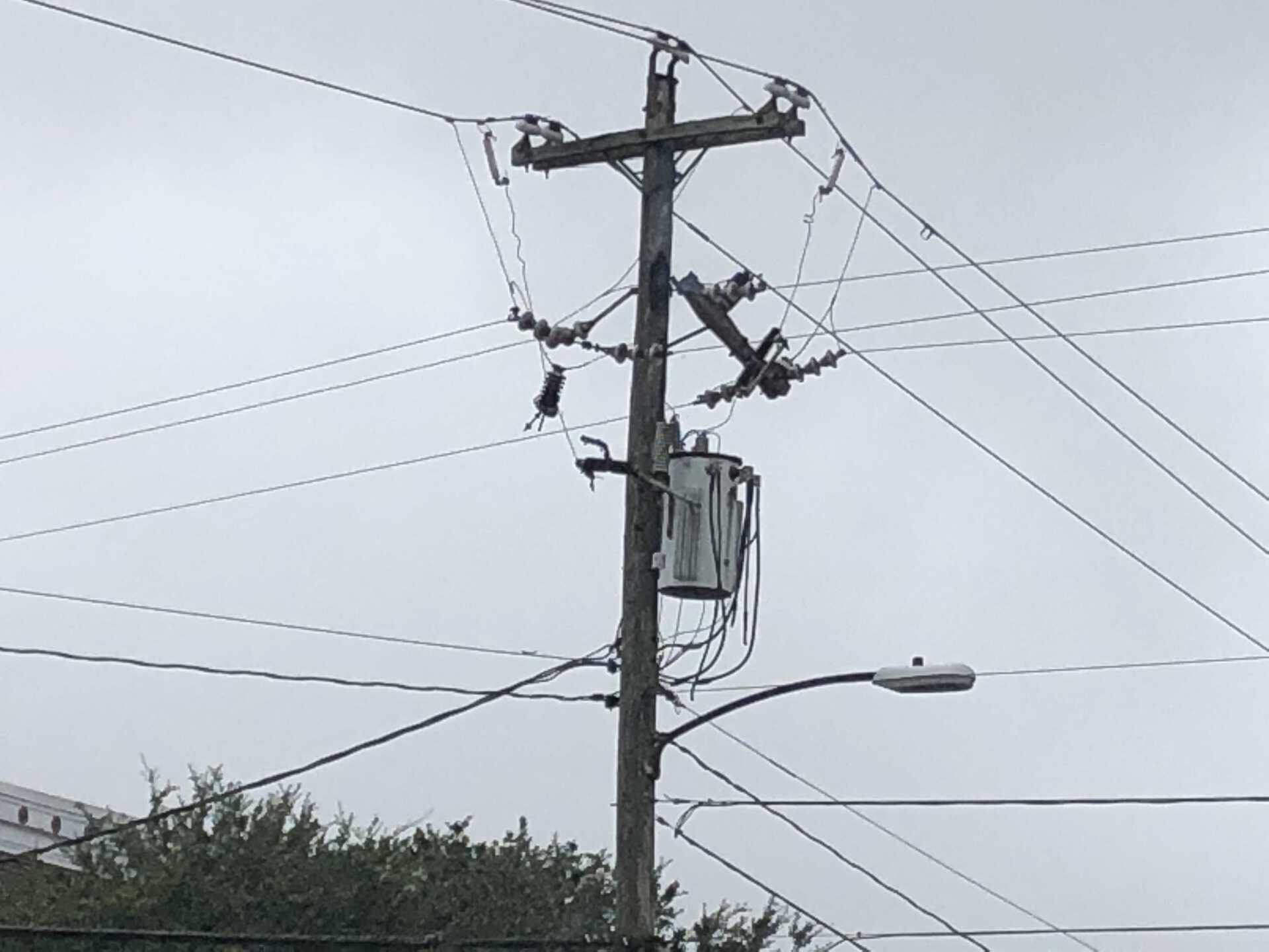 Photos: Salt contamination, rain leads to fires causing thousands to lose power in HamptonRoads