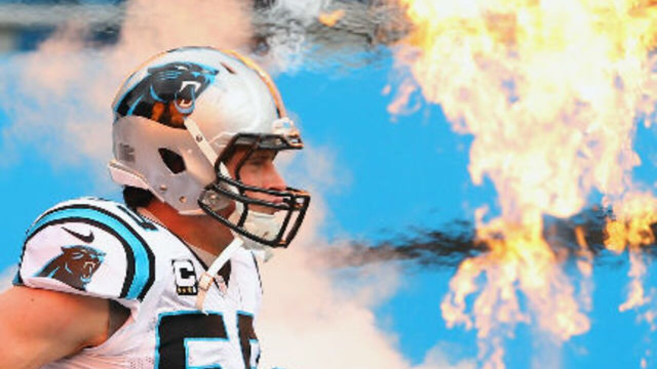 Luke Kuechly was a standout grade-school player