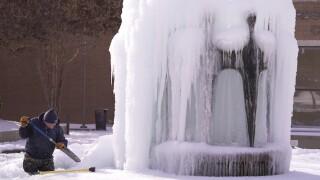 Winter Weather Texas power grid