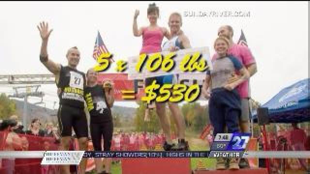 Wife-carrying contest held in Maine
