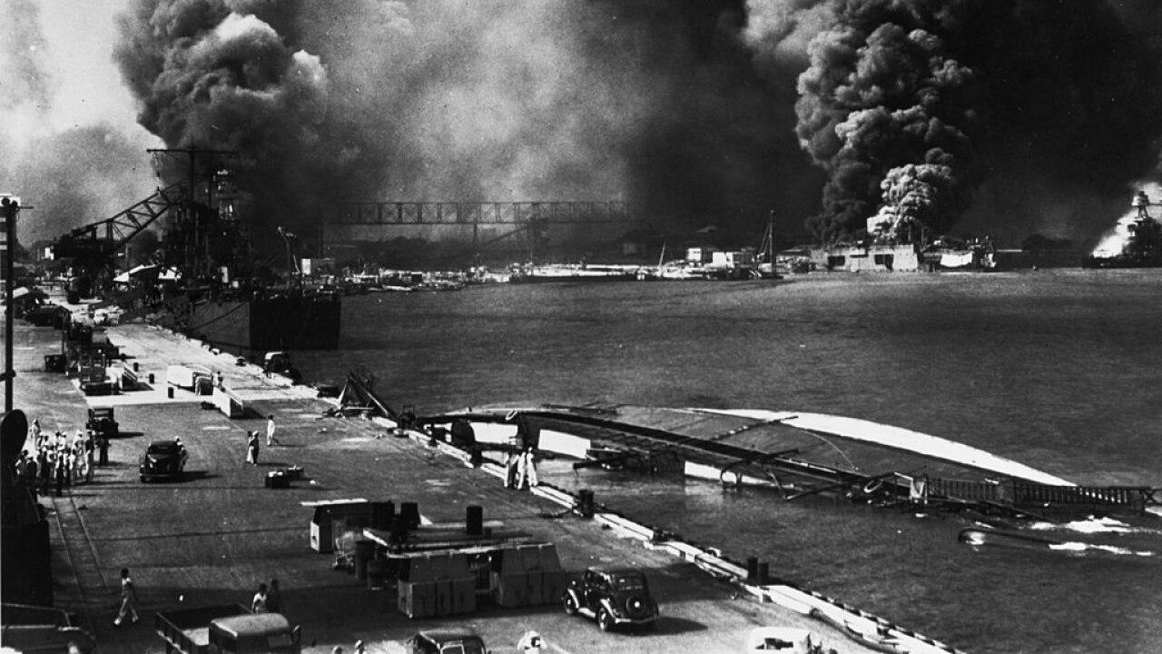 USS Helena at Pearl Harbor