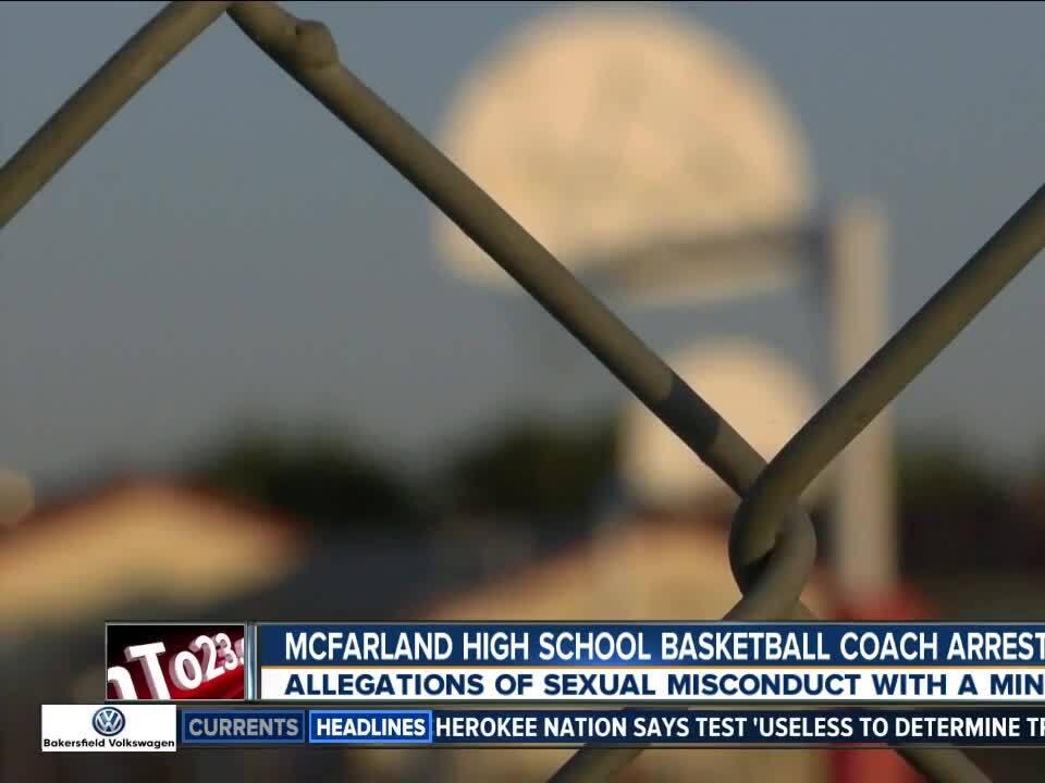 McFarland High School coach arrested
