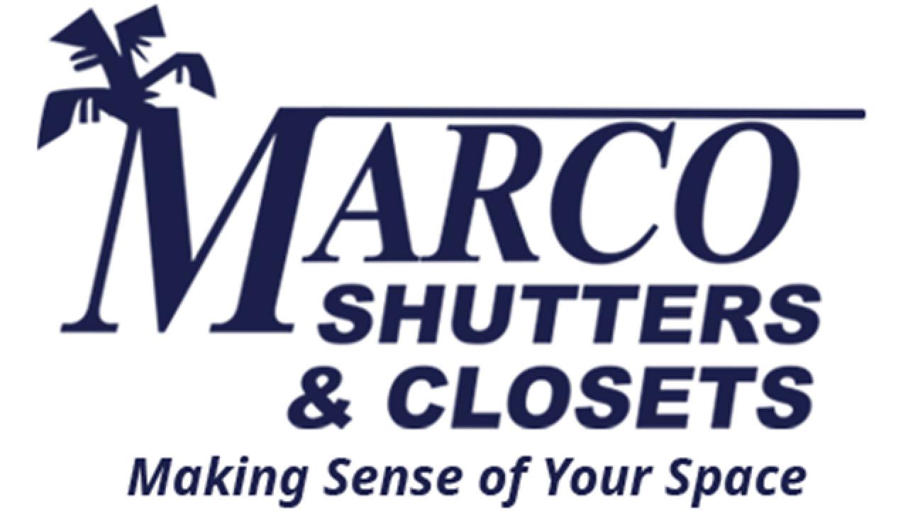 Marco Shutters & Closets logo