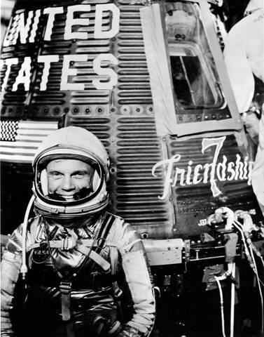 Astronaut John Glenn through the years