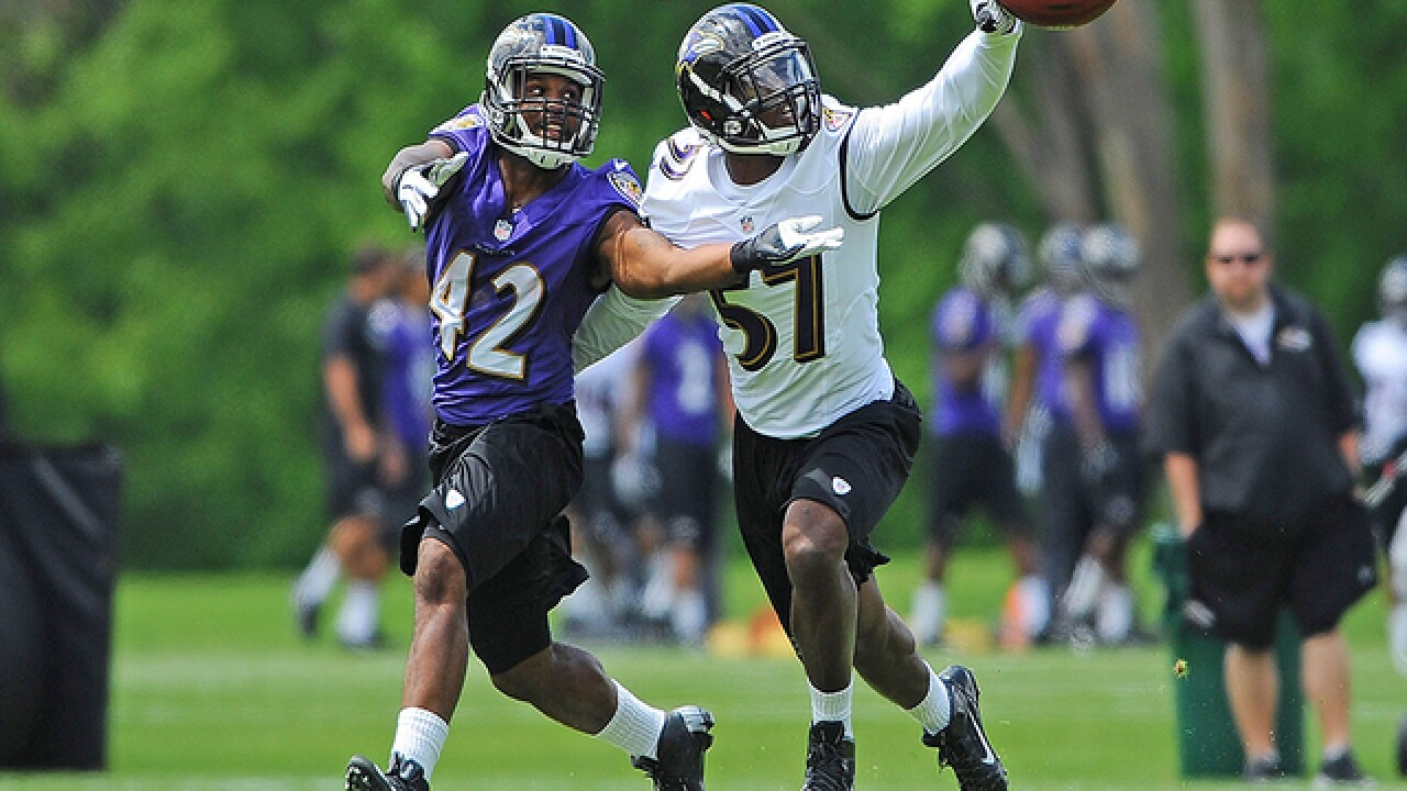 Ravens release additional practice passes, move Tuesday's session indoors