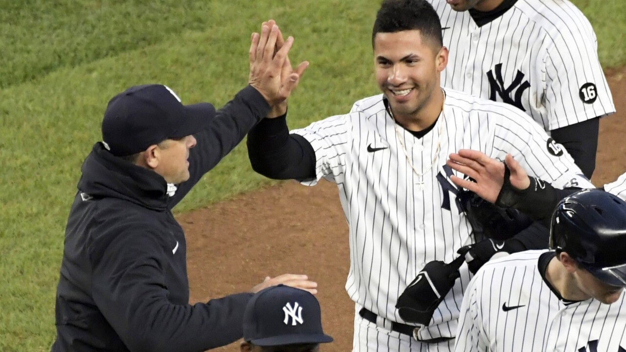 New York Yankees' Gleyber Torres- ap photo