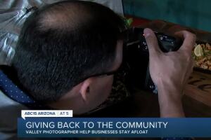 Valley photographer gives back to the community