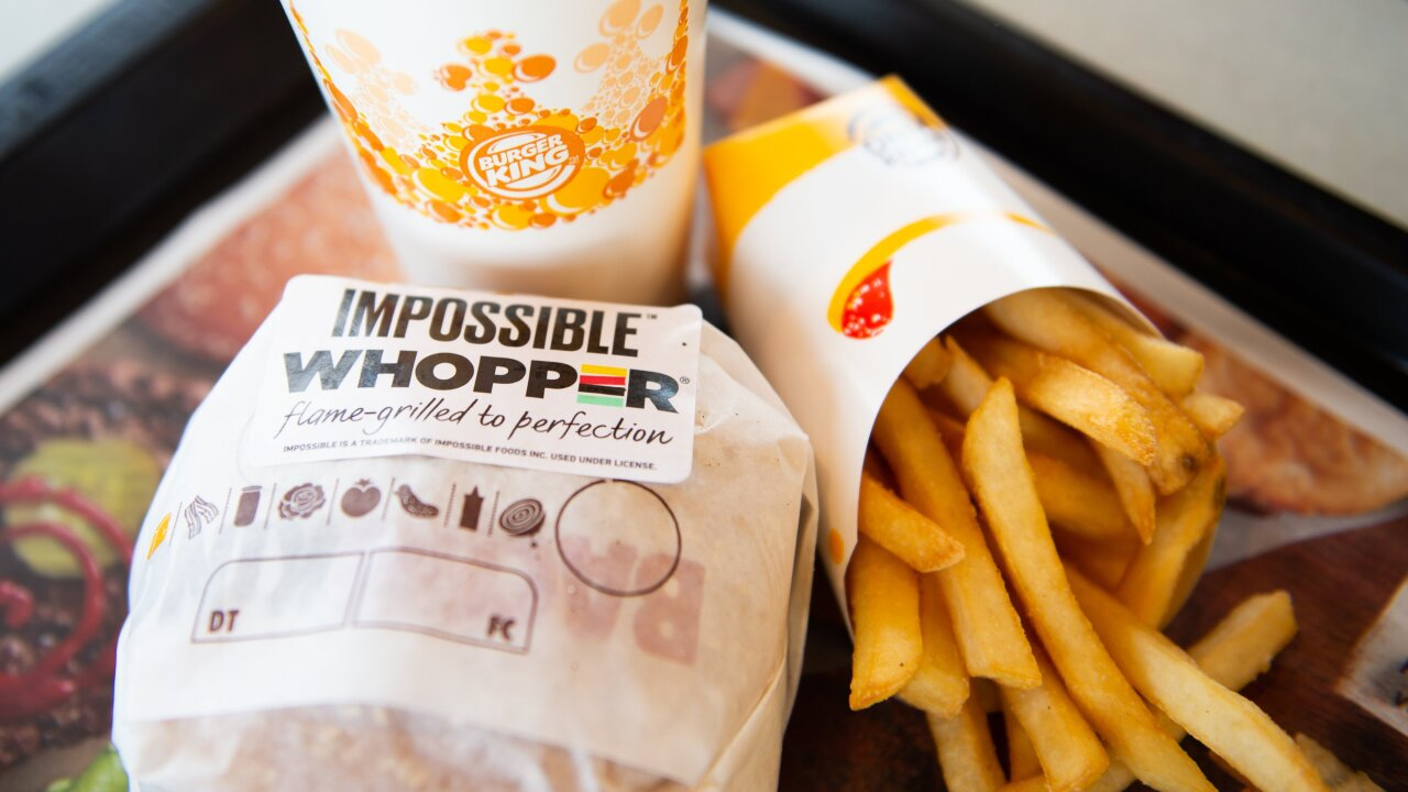Burger King's Impossible Whopper arrives in San Francisco