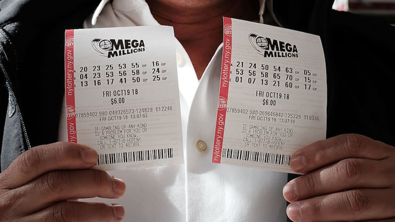 $1.6 billion Mega Millions jackpot up for grabs tonight