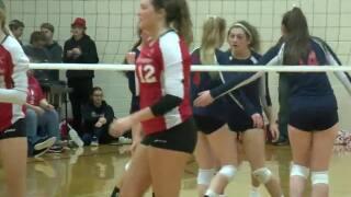 High School Volleyball: Omaha Duchesne vs. Platteview