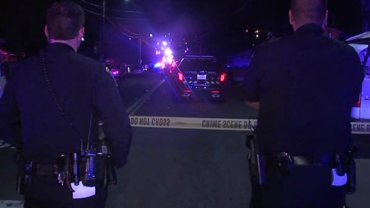 Two San Diego police officers shot, 1 killed