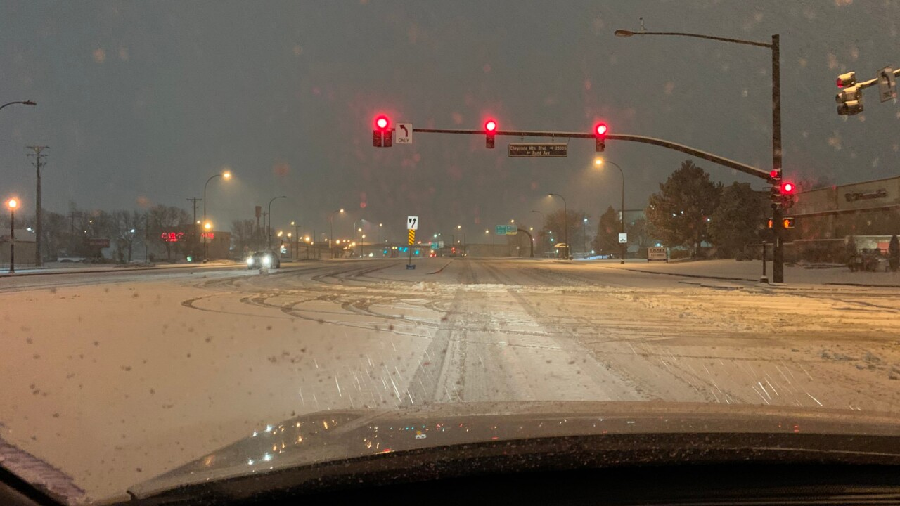 Snow Storm in Colorado Springs on 11/26/2019