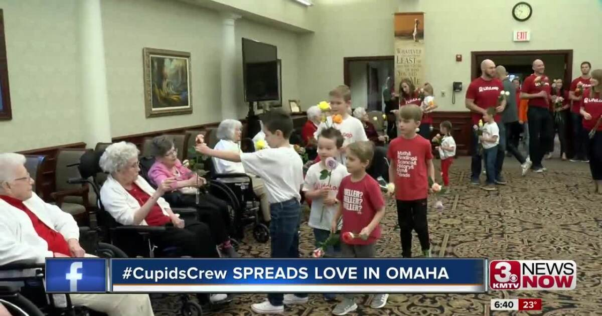 #CupidsCrew shares love with seniors on Valentine's Day