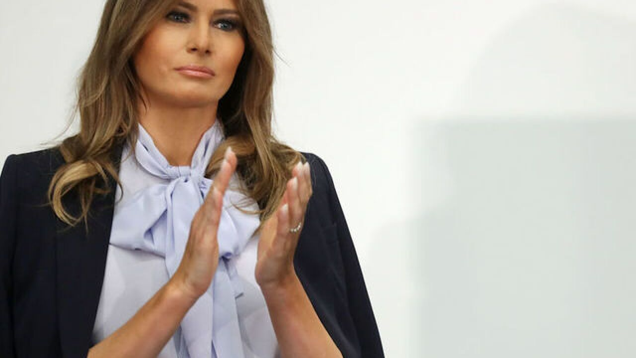 Melania Trump confirms her first big solo trip as first lady, to Africa