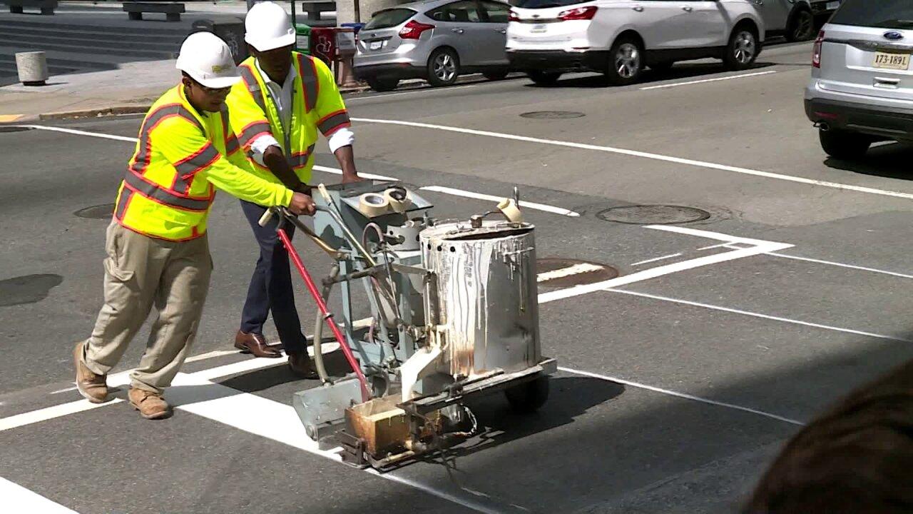 New 'high visibility' crosswalks installed aroundRichmond