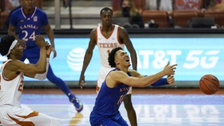 Kansas Texas Basketball