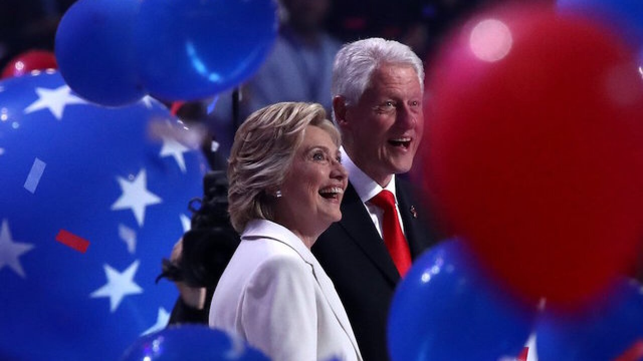 Where to see Bill and Hillary Clinton on tour this year and in 2019