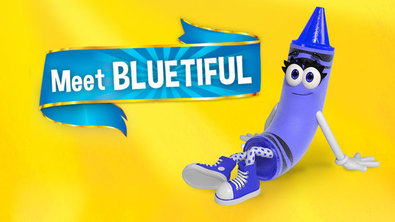 New Crayon Color 2020 Name revealed for new Crayola crayon color and it's 'Bluetiful'