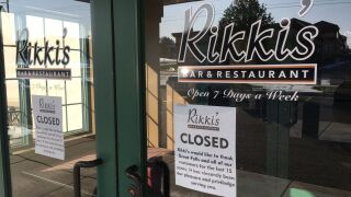 Rikki's Bar & Restaurant in Great Falls has closed