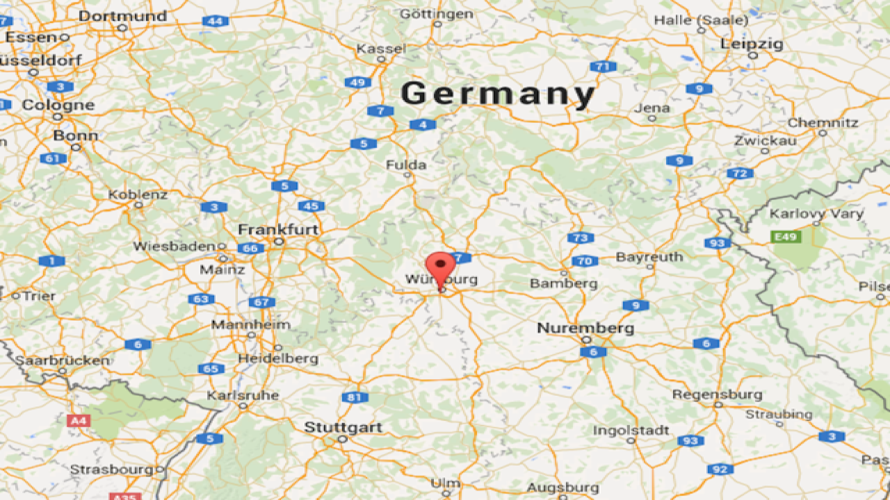 German train terrorized by man with ax