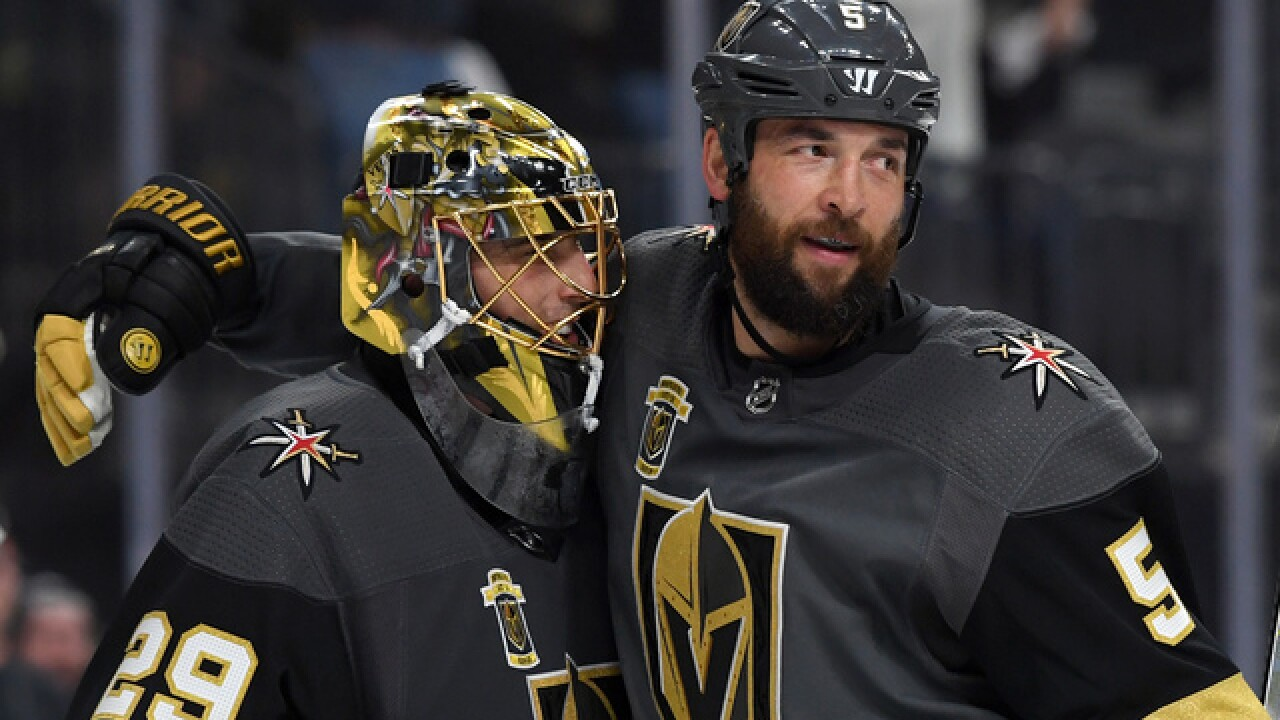 Reilly Smith's third-period goal lifts Golden Knights over Jets