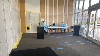 Samuel Rodgers Health Center screening patients