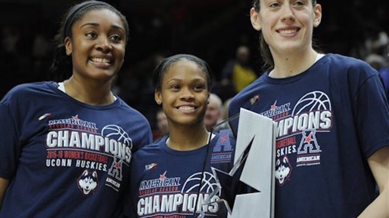 UConn sweeps top 3 at the WNBA Draft