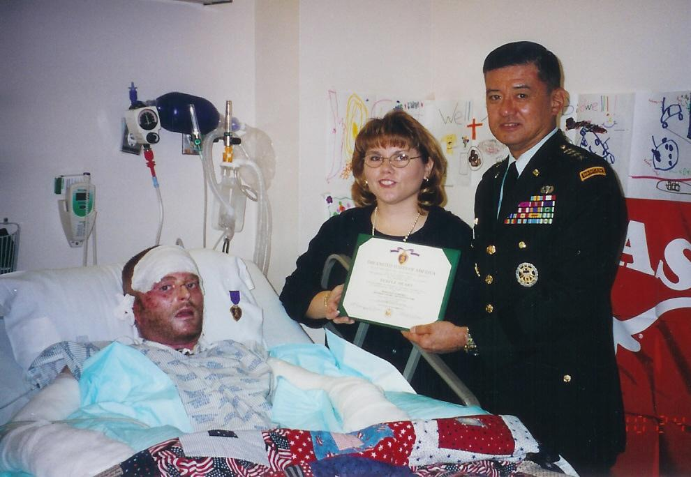 Recovery for Lt. Col. Brian Birdwell would be a five-year ordeal after the Pentagon attack on 9/11.