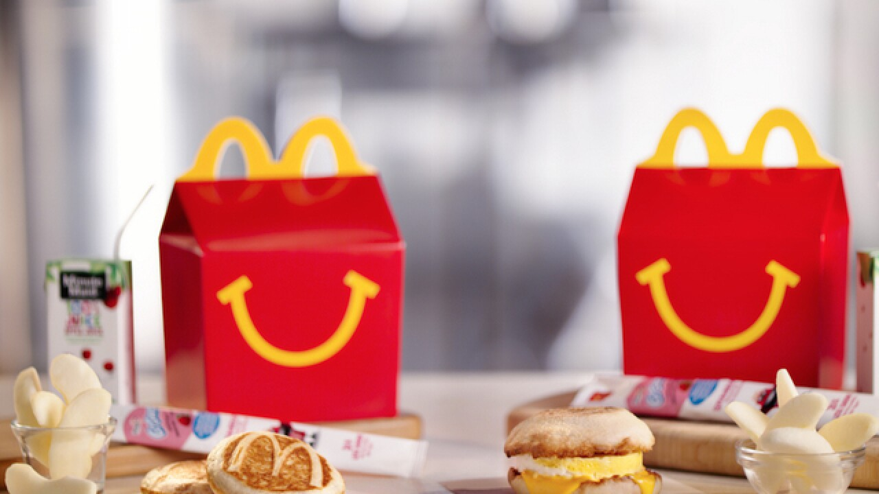 Happy Meals for breakfast? McDonald's testing new kids' option