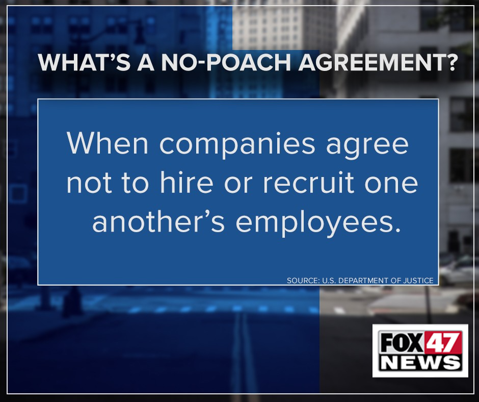 What is a no-poach agreement?