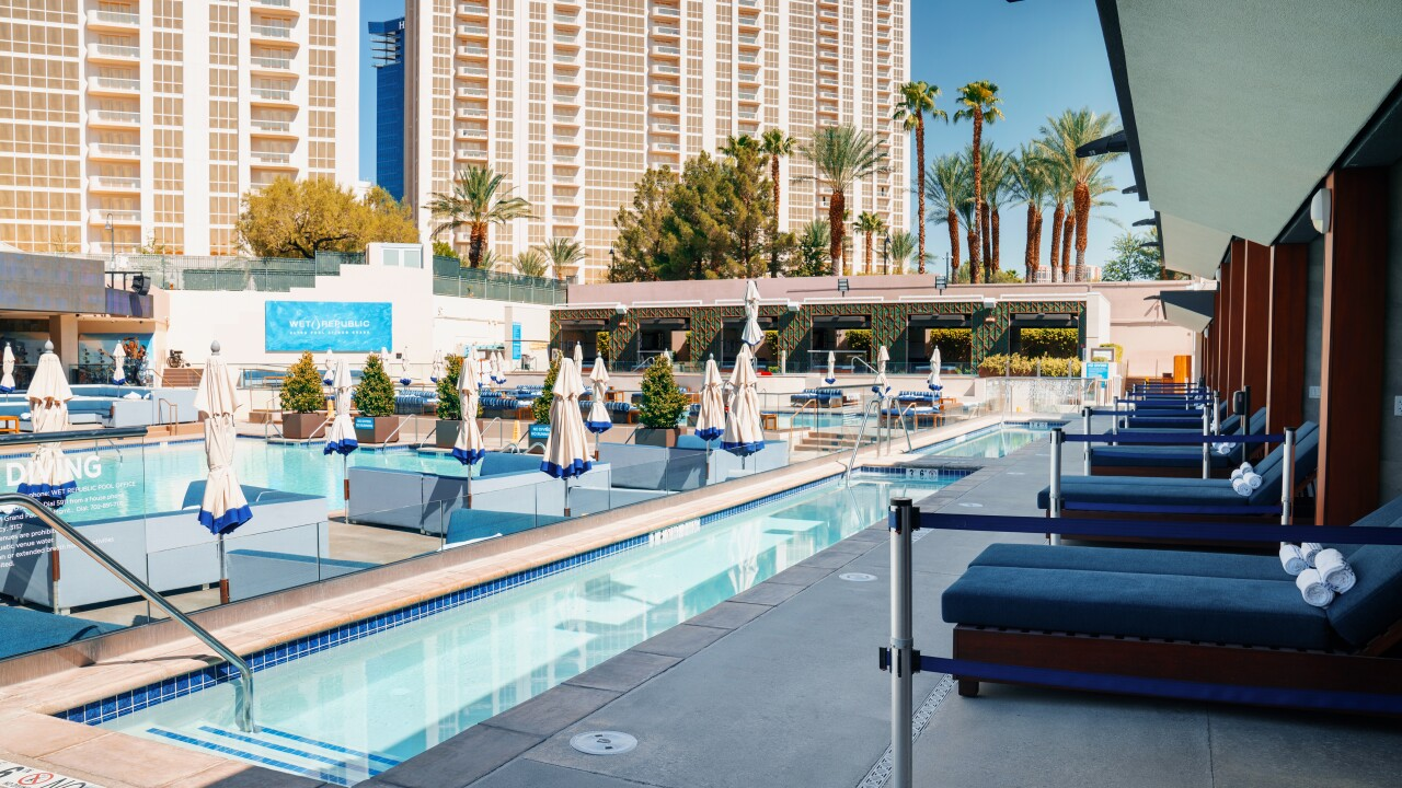 Wet Republic Ultra Pool Lounge is a venue at the MGM Grand in Las Vegas, Nevada.