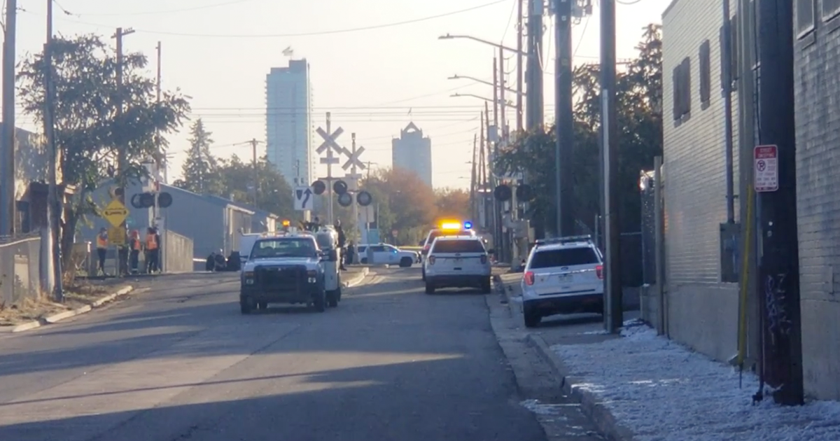 Light rail train hits, kills pedestrian near downtown Denver