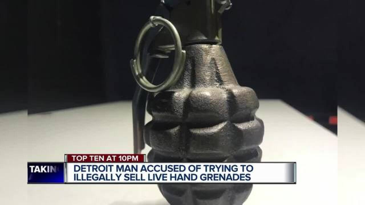 Detroit man facing charges after allegedly trying to sell