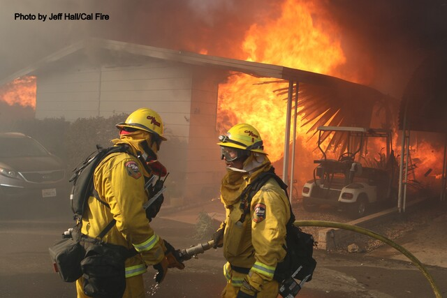 PHOTOS: Lilac Fire burns North County