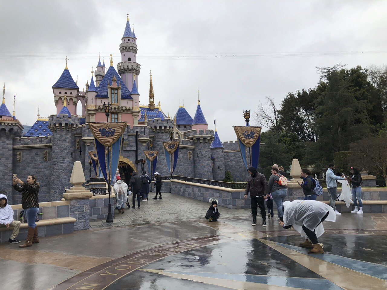 Virus Outbreak California Disneyland